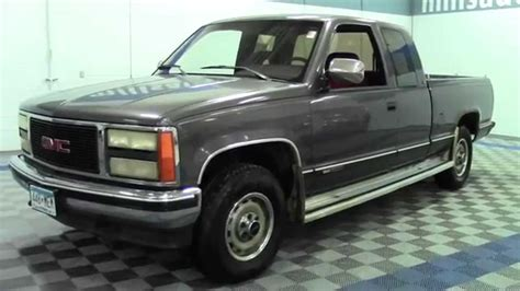 automotive service manuals 1992 gmc 2500 club coupe lane departure warning 1992 gmc sierra 1500 club coupe 1f140722a youtube
