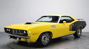 Classic Race Car Wallpaper Hd by Plymouth Barracuda Race Car Classic Car Classic Hd