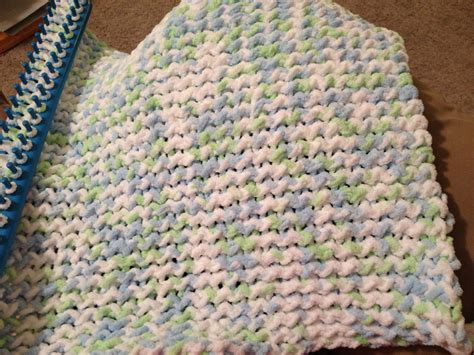 simple loom knit blanket everything stacaw my