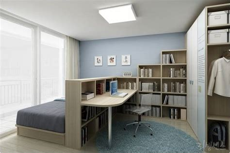 bedroom office designs bedroom home office combo divided with bookcase home