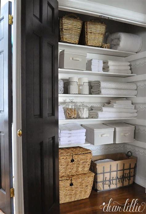 linen closet dear lillie our linen closet makeover
