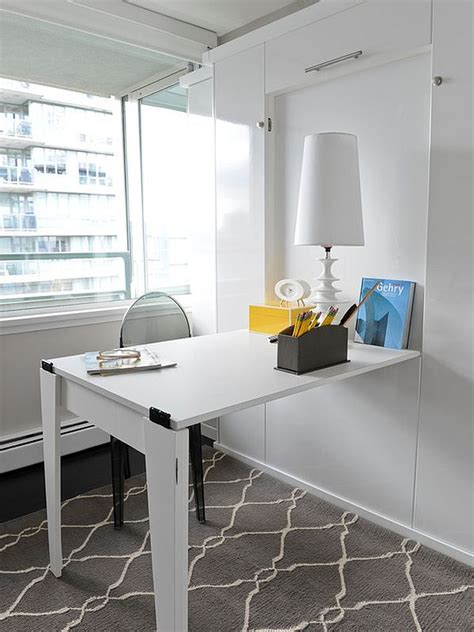 small apartment desks space saving hideaway desks for small apartment designs