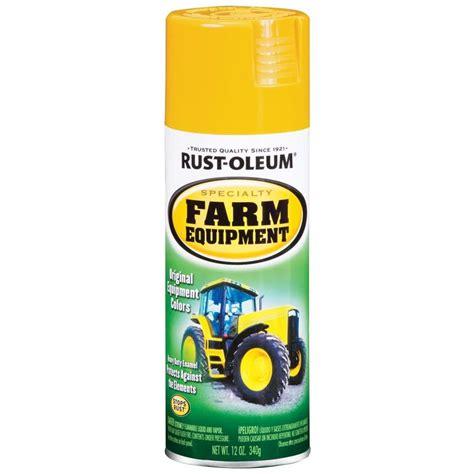 spray paint yellow shop rust oleum 12 oz caterpillar yellow gloss spray paint
