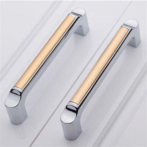 modern kitchen cabinet hardware pulls aliexpress buy 128mm silver white kitchen cabinet