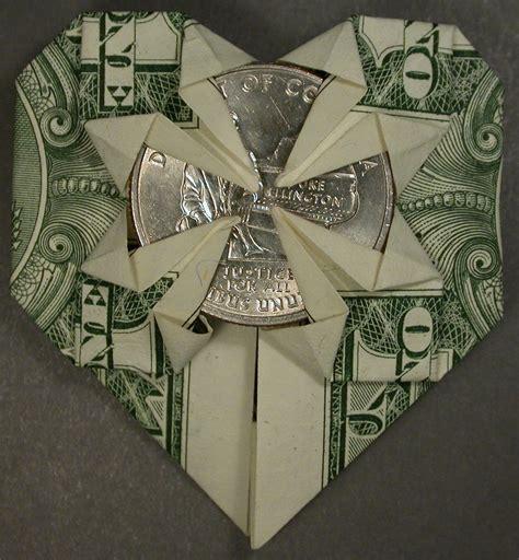money origami with quarter quarter dollar origami comot