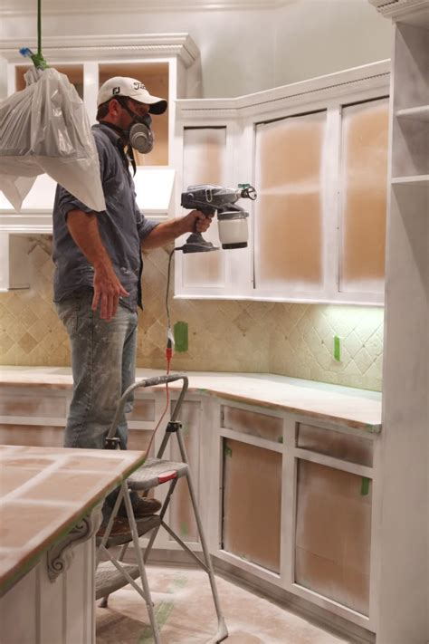 spray painting unfinished cabinets spray painting kitchen cabinets manicinthecity