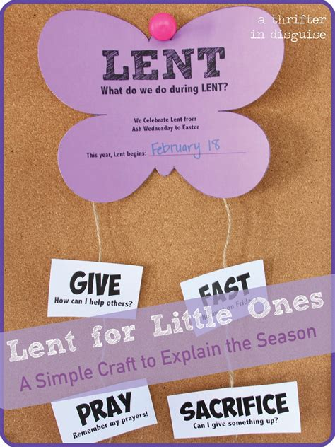 lenten crafts for a thrifter in disguise butterflies for lent project