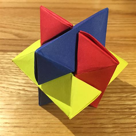 origami puzzle origami burr puzzle froy folded by ez origami