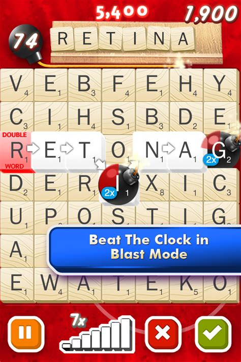 scrabble blast app scrabble blast free with free dlc touch arcade
