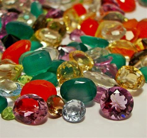 gems wholesale faceted gemstones mixed gems wholesale