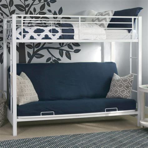 bunk beds with a futon best 25 futon bunk bed ideas on loft bed