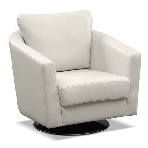 swivel chairs with arms white leather swivel arm chair with back also circle