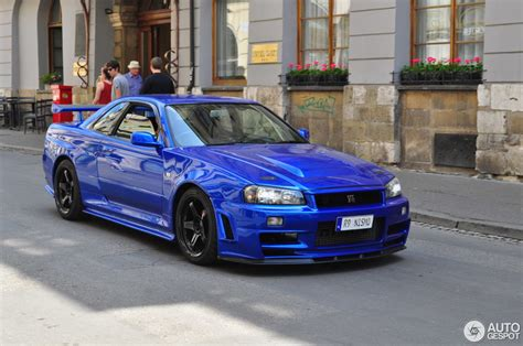 Skyline Gtr R 34 by Nissan Skyline R34 Gt R V Spec Ii N 252 R 28 May 2016