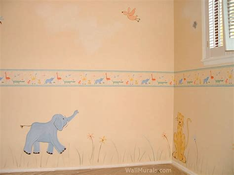 baby wall mural jungle wall murals exles of jungle theme murals