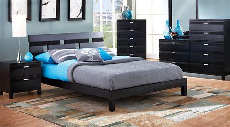 platform bedroom furniture sets gardenia black 5 pc platform bedroom bedroom