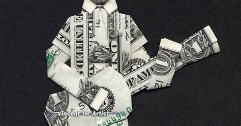 origami guitar dollar bill money origami abe lincoln guitar money dollar