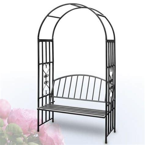 Garden Arch And Bench Garden Arch Bench Metal Trellis Archway Wedding