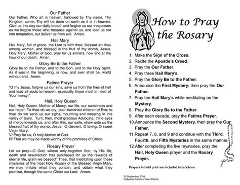 how do you pray with rosary best 25 rosary prayer guide ideas on rosary