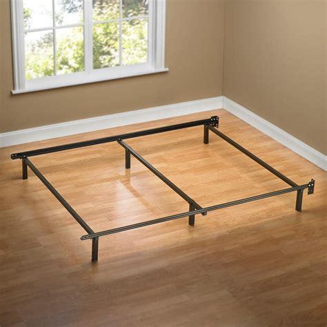 size steel bed frame sleep revolution traditional size steel bed frame