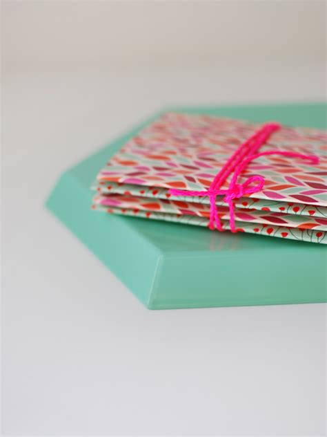 origami notebook how to make beautiful origami cards from tissue boxes
