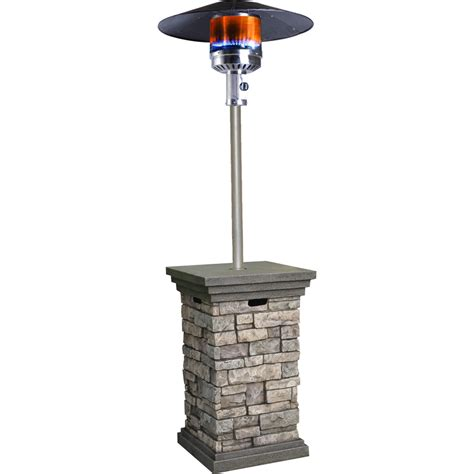 patio heaters propane shop bond 42 000 btu composite liquid propane patio