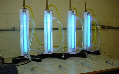 uv experiment photocatalysis of naphthenic acids in water