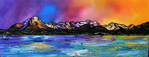spray painting scotland painting prints of from balmacara scotland