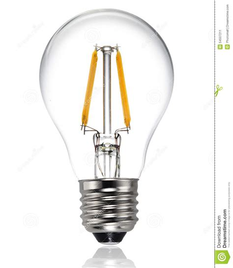 type a light bulb led new type led light bulb stock photo image 54507211