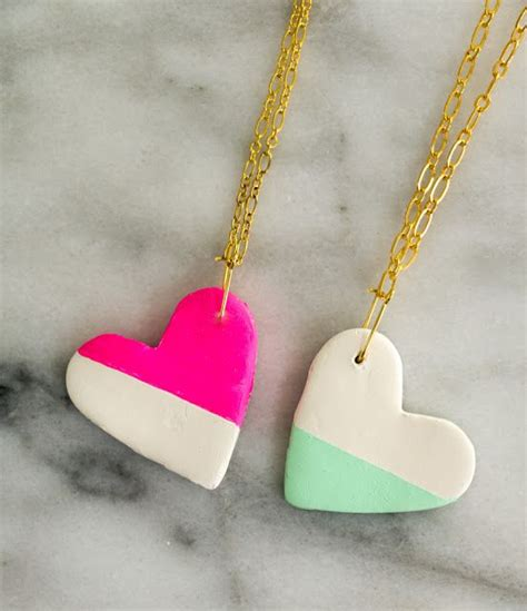bff crafts for craft it bff colorblocked necklaces crafts