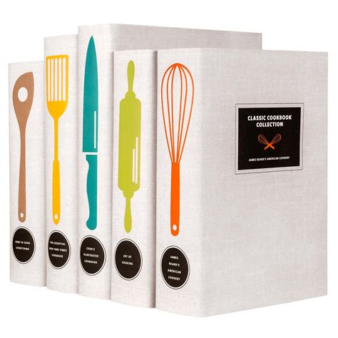 cook book pictures cooking books cookbook set in custom printed covers