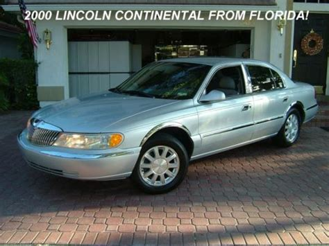how to sell used cars 2000 lincoln continental head up display sell used 2000 lincoln continental from florida one owner 69000 miles like brand new in