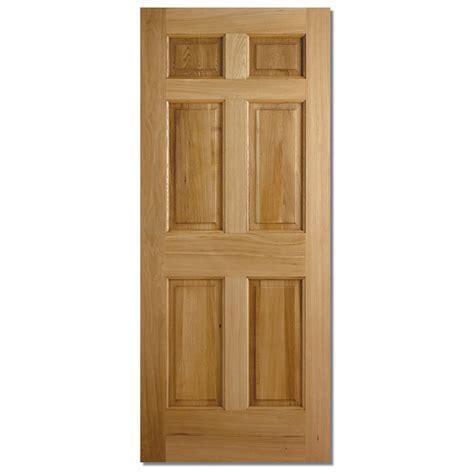exterior hardwood door lpd colonial 6 panel hardwood exterior door next day