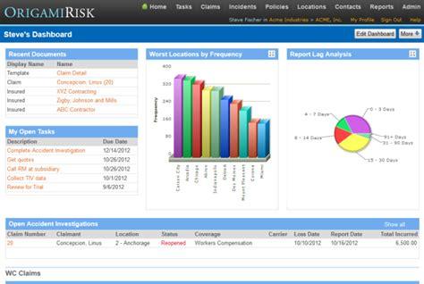 origami risk management origami risk tv enterprise risk management
