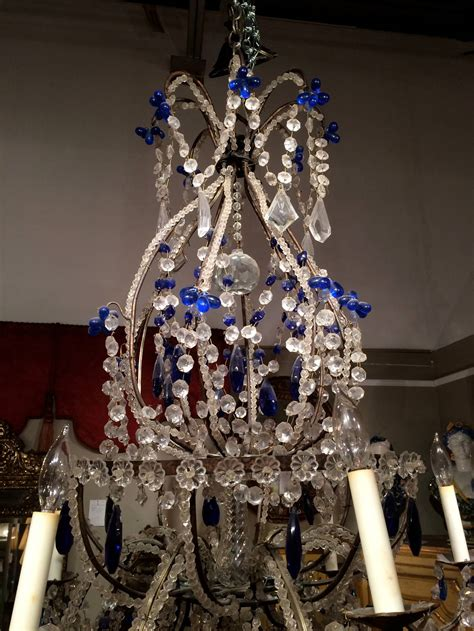 cobalt blue chandelier venetian murano and cobalt blue chandelier for sale at 1stdibs
