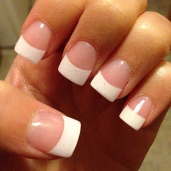 acrylic paint nail tips white nails archives the nail for you