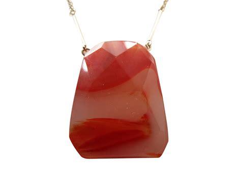Wholesale 10 Semi Precious Block Pendant