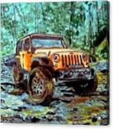 acrylic painting of jeep jeep rubicon watercolor framed print by d osdol