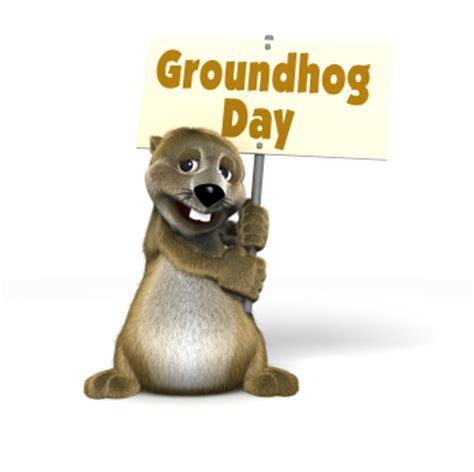 groundhog day used to something happy groundhog day 2013 sondasmcschatter