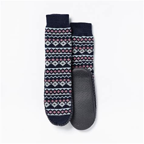 knit slipper socks knit slipper socks west elm