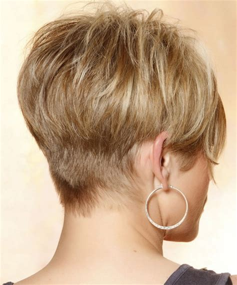 views of back of medium hairstyles back view of short hairstyles