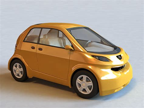 Hyundai Car Models by Hyundai Small Car 3d Model 3ds Max Autodesk Fbx Files Free