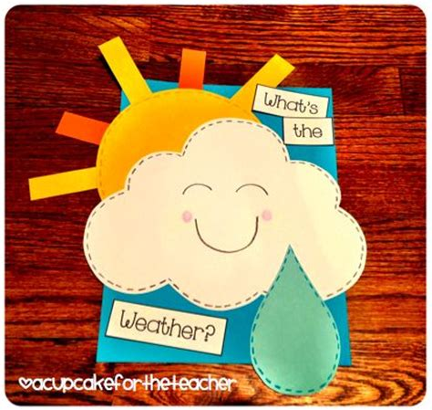 weather craft for weather craft weather preschool theme