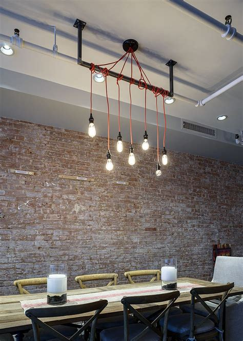 dining room wall lights 50 bold and inventive dining rooms with brick walls