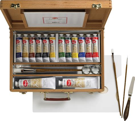 acrylic painting kit a complete painting kit for beginners save on discount utrecht artists deluxe wood box easel