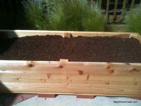 build your own planter box diy build your own vegetable planter box plans free