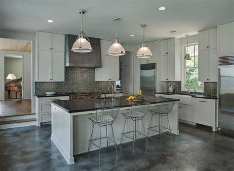 light gray kitchens light gray kitchen cabinets with gray subway tile