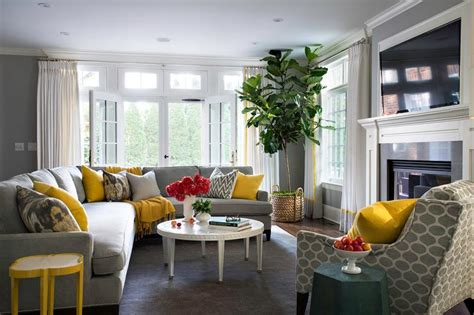 yellow living room yellow and gray living room design ideas