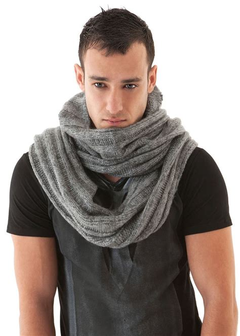mens scarf knit mens scarf soft knit hooded funkdpunk my styles