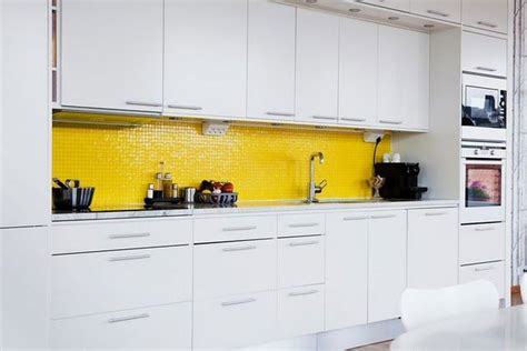 backsplash for yellow kitchen white kitchen yellow tile backsplash pretty up my place