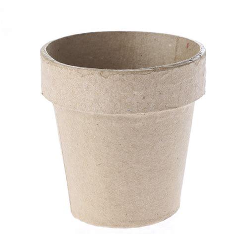 flower pot paper craft paper mache flower pot paper mache basic craft